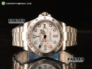 Rolex Explorer II Steel Case With Original Movement White Dial 216570 w